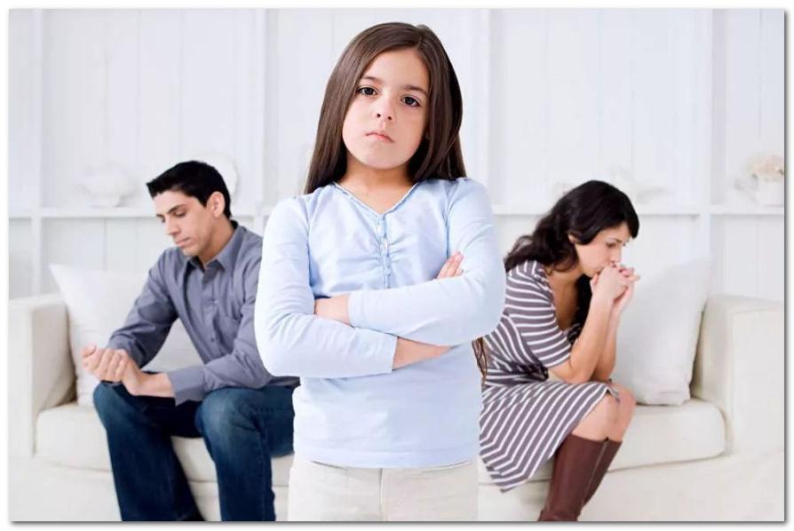 Как общаться с ребенком после развода?